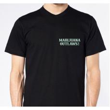 Marijuana Outlaws Men's T-Shirts