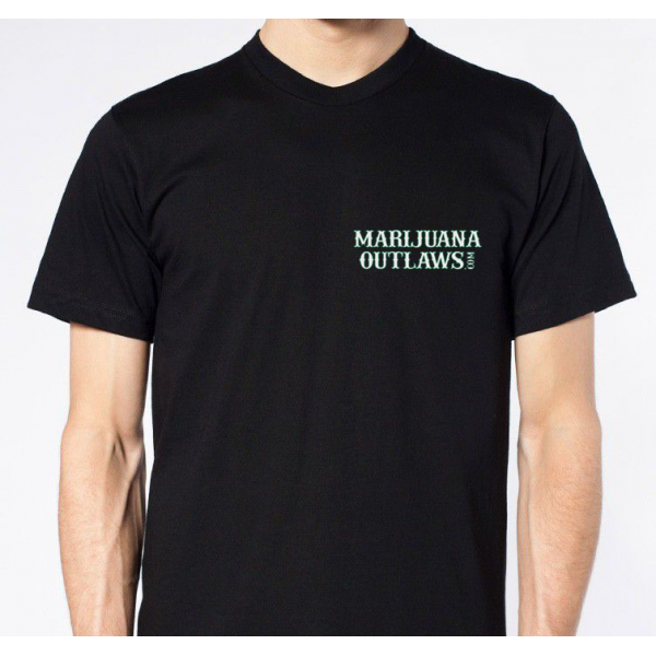 Marijuana Outlaws Men's T-Shirts